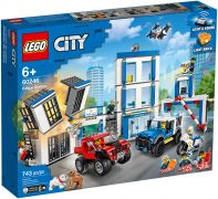 LEGO City 60246 Le commissariat de police