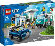 LEGO City 60257 La station-service