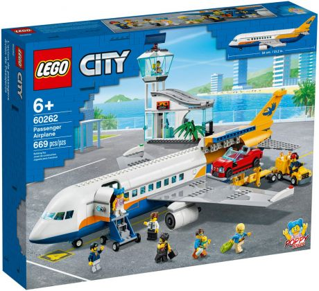 LEGO City 60262 L'avion de passagers