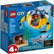 LEGO City 60263 Le mini sous-marin