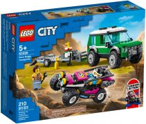 LEGO City 60288 Le transport du buggy de course