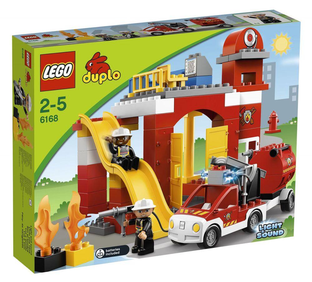 Lego duplo 6168 pas cher la caserne des pompiers - Caserne pompier playmobil pas cher ...