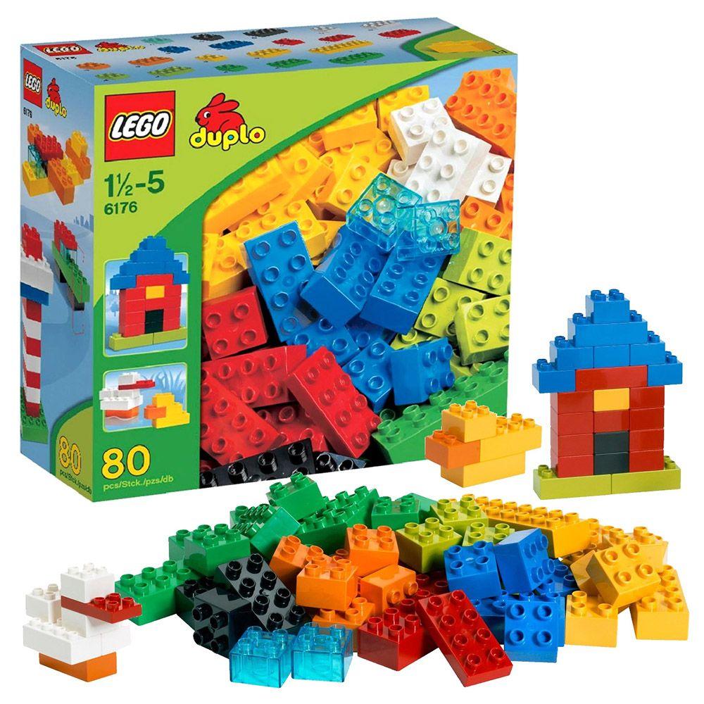 lego duplo 6176 pas cher briques de base lego duplo de luxe. Black Bedroom Furniture Sets. Home Design Ideas