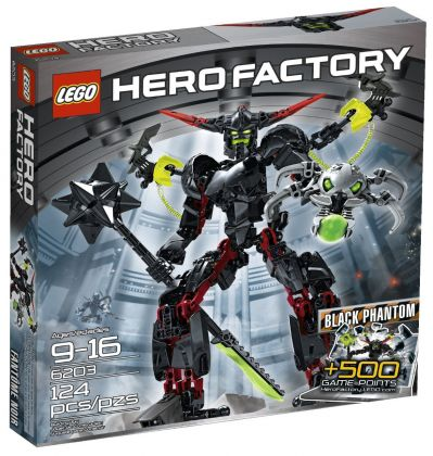 LEGO Hero Factory 6203 Black Phantom