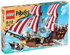 LEGO Pirates 6243 Le bateau pirate
