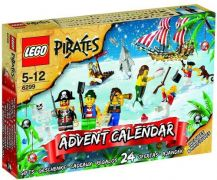 LEGO Pirates 6299 Calendrier de l'avent Pirates