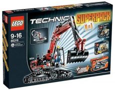 LEGO Technic 66318 Super Pack 4 en 1