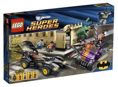 LEGO DC Comics Super Heroes 6864 La poursuite de Double-Face en Batmobile