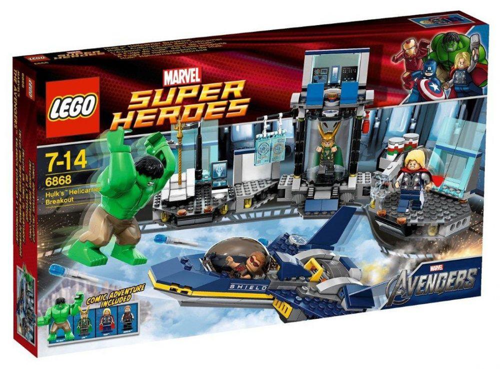 marvel lego 6868