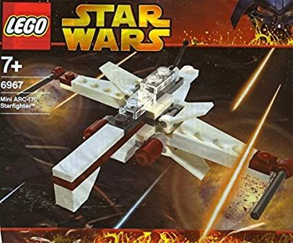 LEGO Star Wars 6967 Mini ARC-170 Starfighter