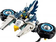 LEGO Chima 70007 Le roadster d'Eglor