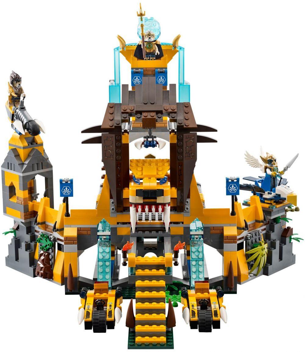 Lego chima 70010 pas cher le temps de la tribu lion - Dessin lego chima ...