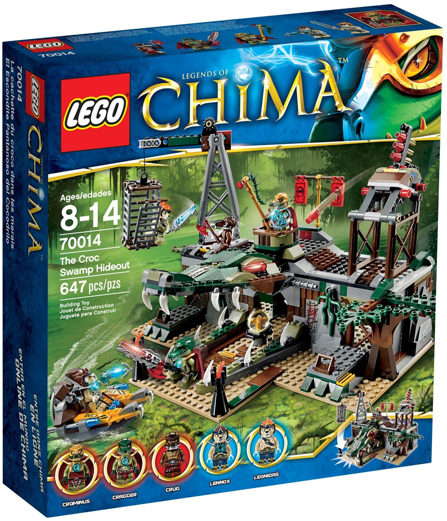 Lego chima 70014 pas cher le repaire croco - Image de lego chima ...