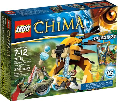 LEGO Chima 70115 L'ultime tournoi Speedor