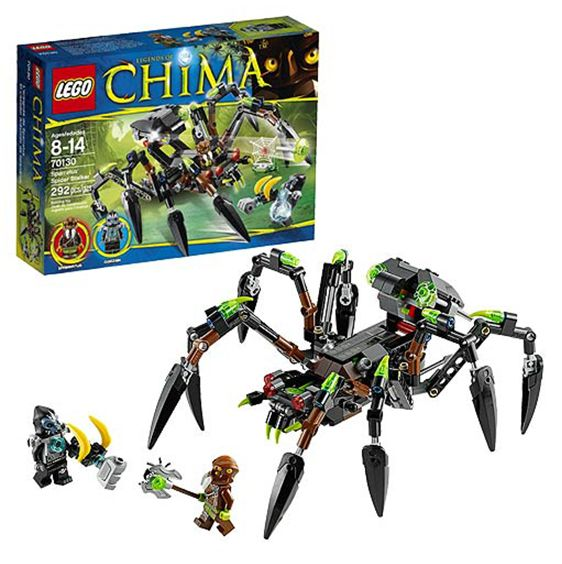 Lego chima 70130 pas cher le tank araign e de sparratus - Lutter contre les araignees ...