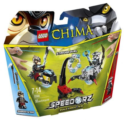 LEGO Chima 70140 Set de démarrage - Scorpion vs Lion