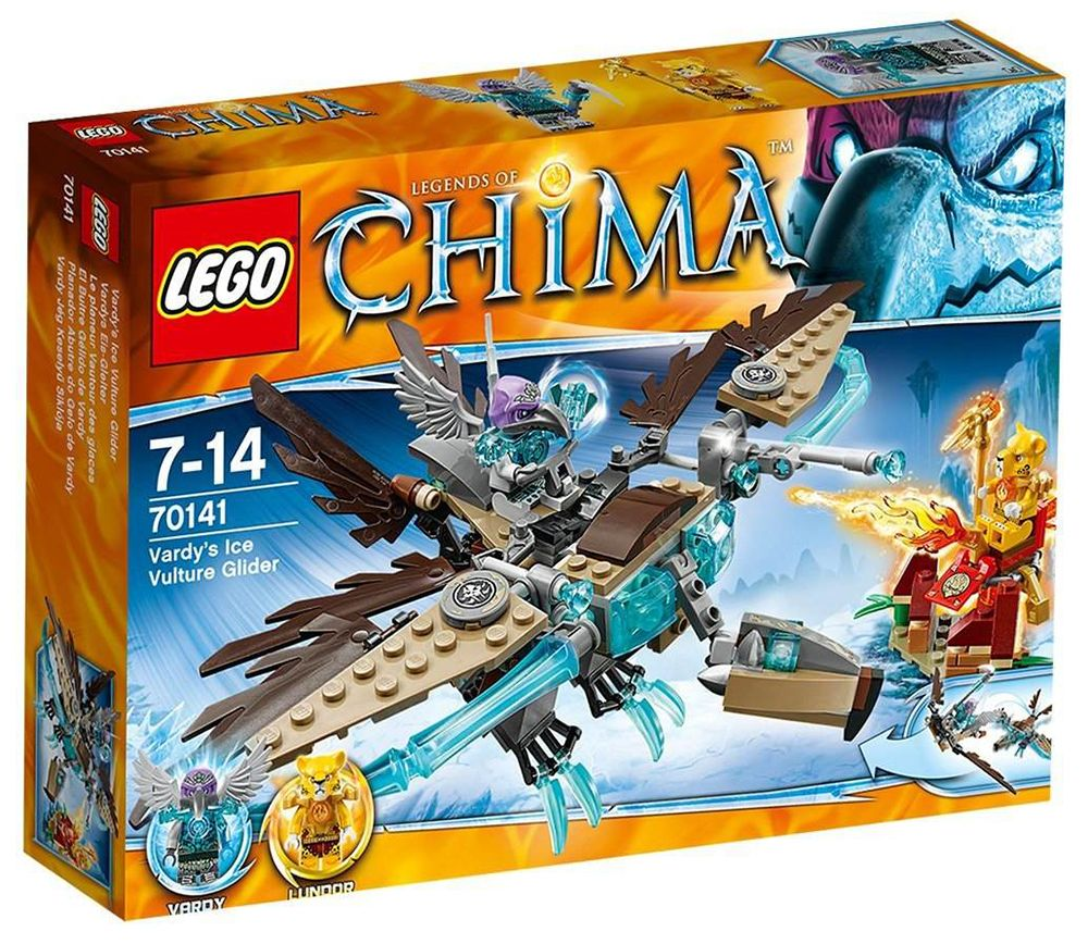 Lego chima 70141 pas cher le planeur vautour des glaces - Image de lego chima ...