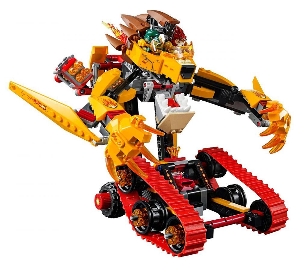 Lego chima 70144 pas cher le tank lion de feu de laval - Image de lego chima ...