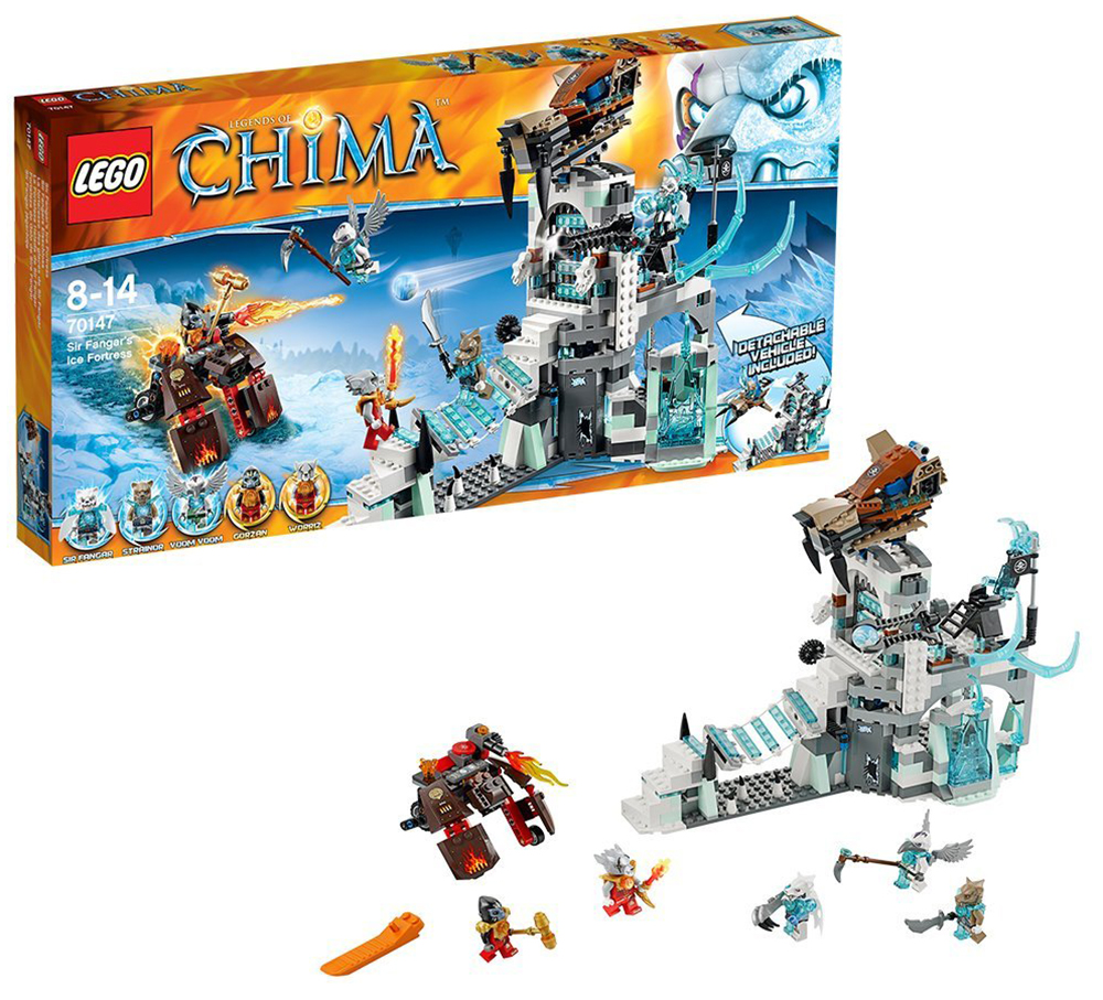 Lego chima 70147 pas cher la forteresse de glace de sir fangar - Image de lego chima ...