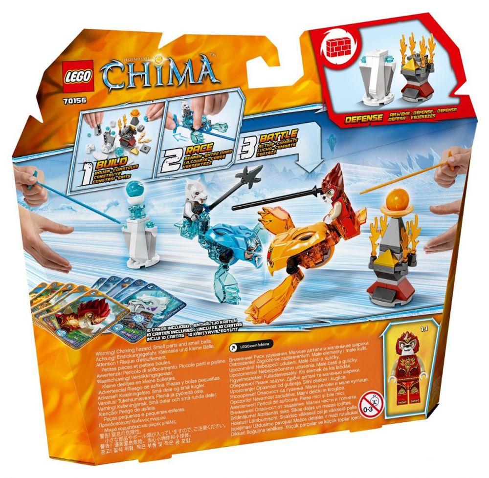 Lego chima 70156 pas cher set de d marrage laval vs sir fangar - Image de lego chima ...