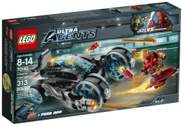 LEGO Ultra Agents 70162 - L'interception d'Infearno pas cher