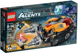 LEGO Ultra Agents 70168 Le diamant de Drillex