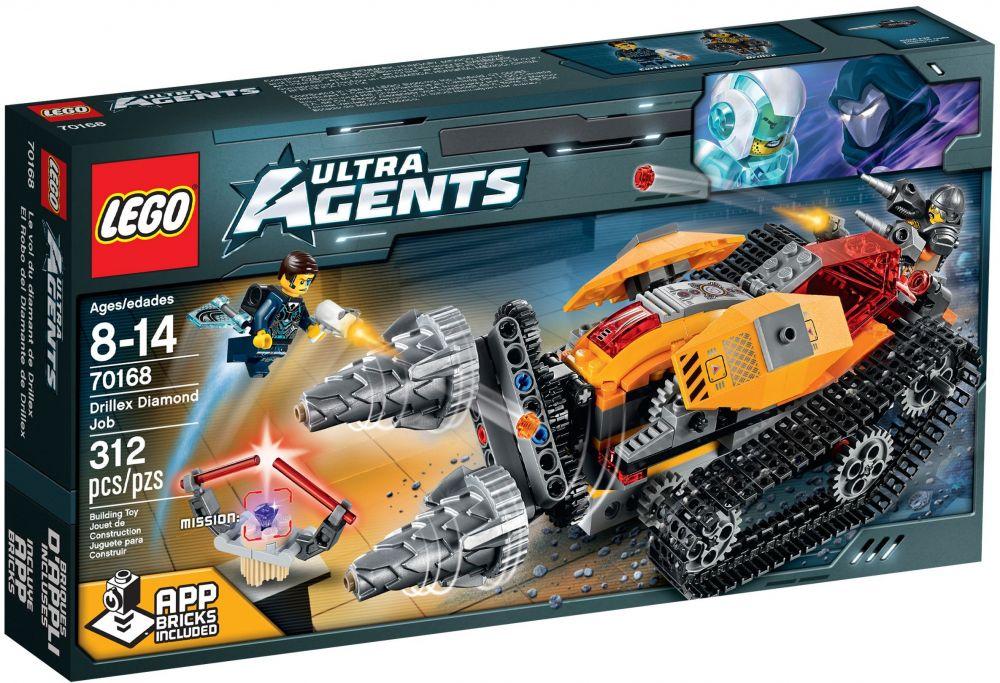 Diamant Agents 70168 Drillex Lego Ultra De Le DHE2I9