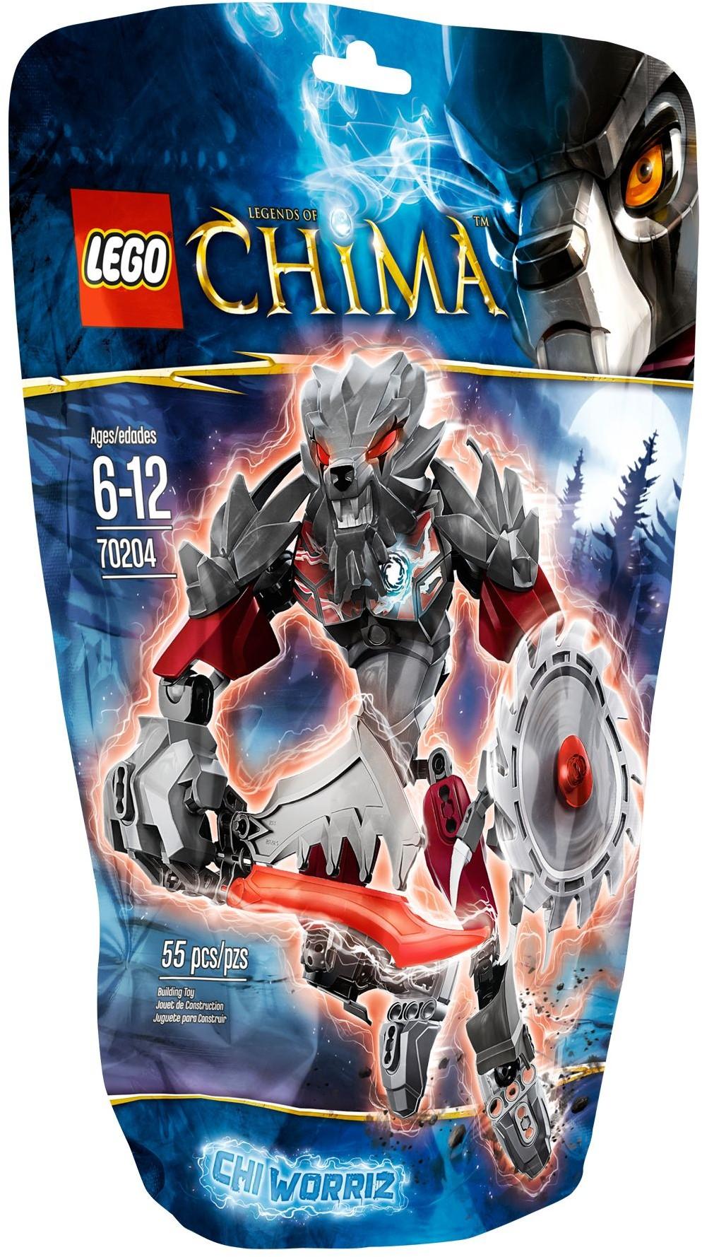 70204 Worriz Pas CherChi Lego Chima H9WID2EY