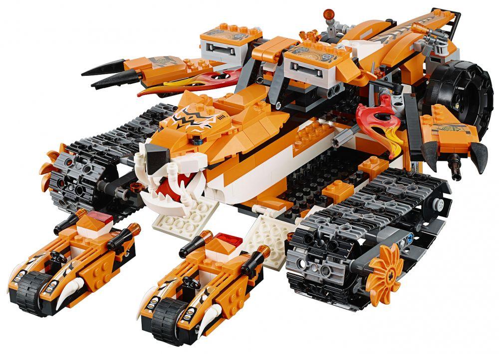 Lego chima 70224 pas cher la base mobile de combat - Image de lego chima ...