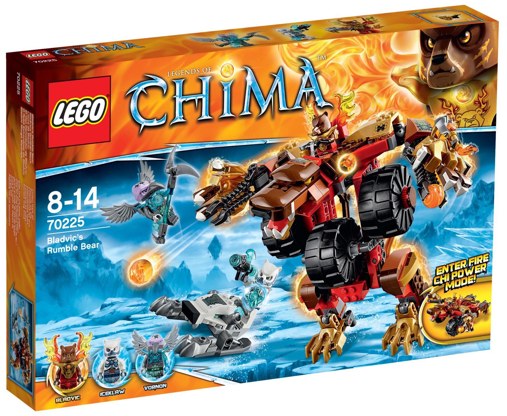Lego chima 70225 pas cher l 39 ours de bladvic - Image de lego chima ...
