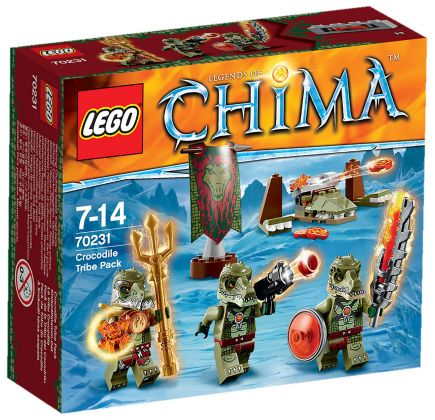 LEGO Chima 70231 La tribu Crocodile