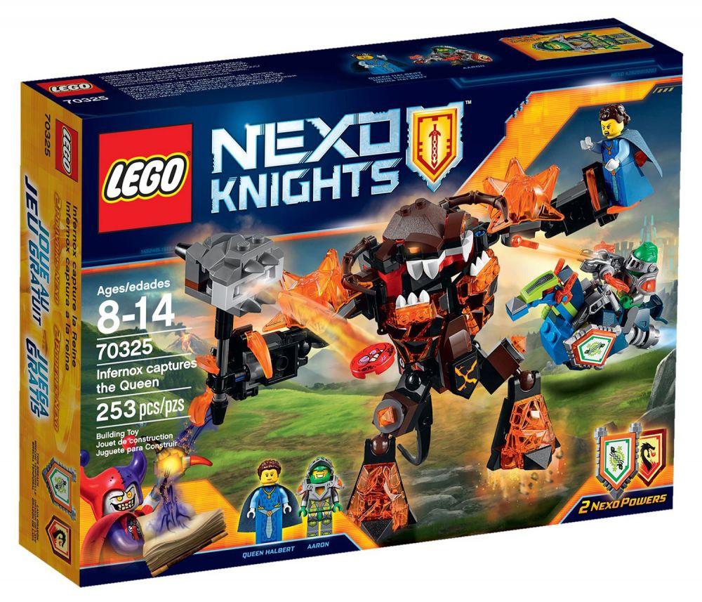 lego nexo knights 70325 pas cher infernox capture la reine. Black Bedroom Furniture Sets. Home Design Ideas