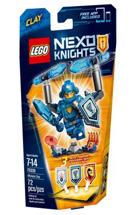 LEGO Nexo Knights 70330 Clay l'Ultime chevalier