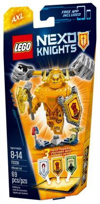 LEGO Nexo Knights 70336 Axl l'Ultime chevalier
