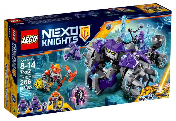 LEGO Nexo Knights 70350 Les trois frères