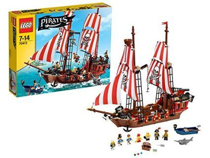 70413 le bateau pirate de lego. Black Bedroom Furniture Sets. Home Design Ideas