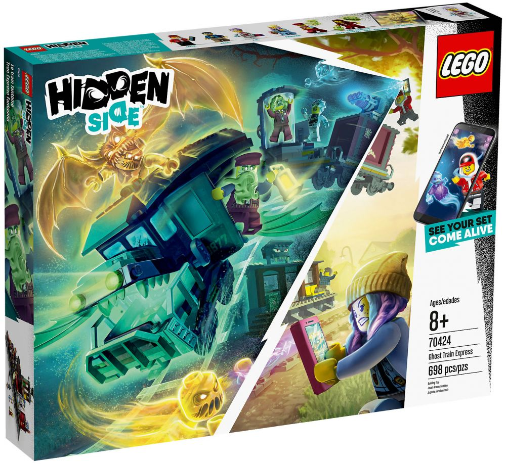 Lego Hidden Side 70424 Pas Cher Le Train Fantome
