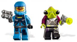 LEGO Alien Conquest 7050 Le soldat de la force Anti-Alien