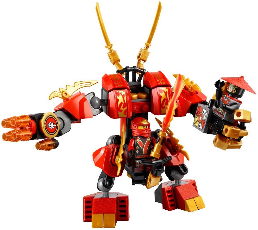 Lego ninjago 70500 pas cher le robot de feu de kai - Ninjago les 4 armes d or ...