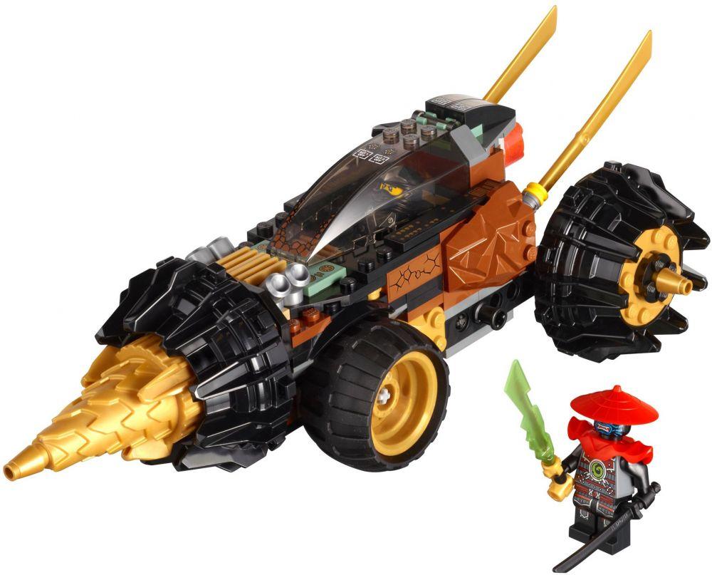 Lego ninjago 70502 pas cher la foreuse de cole - Lego ninjago voiture ...