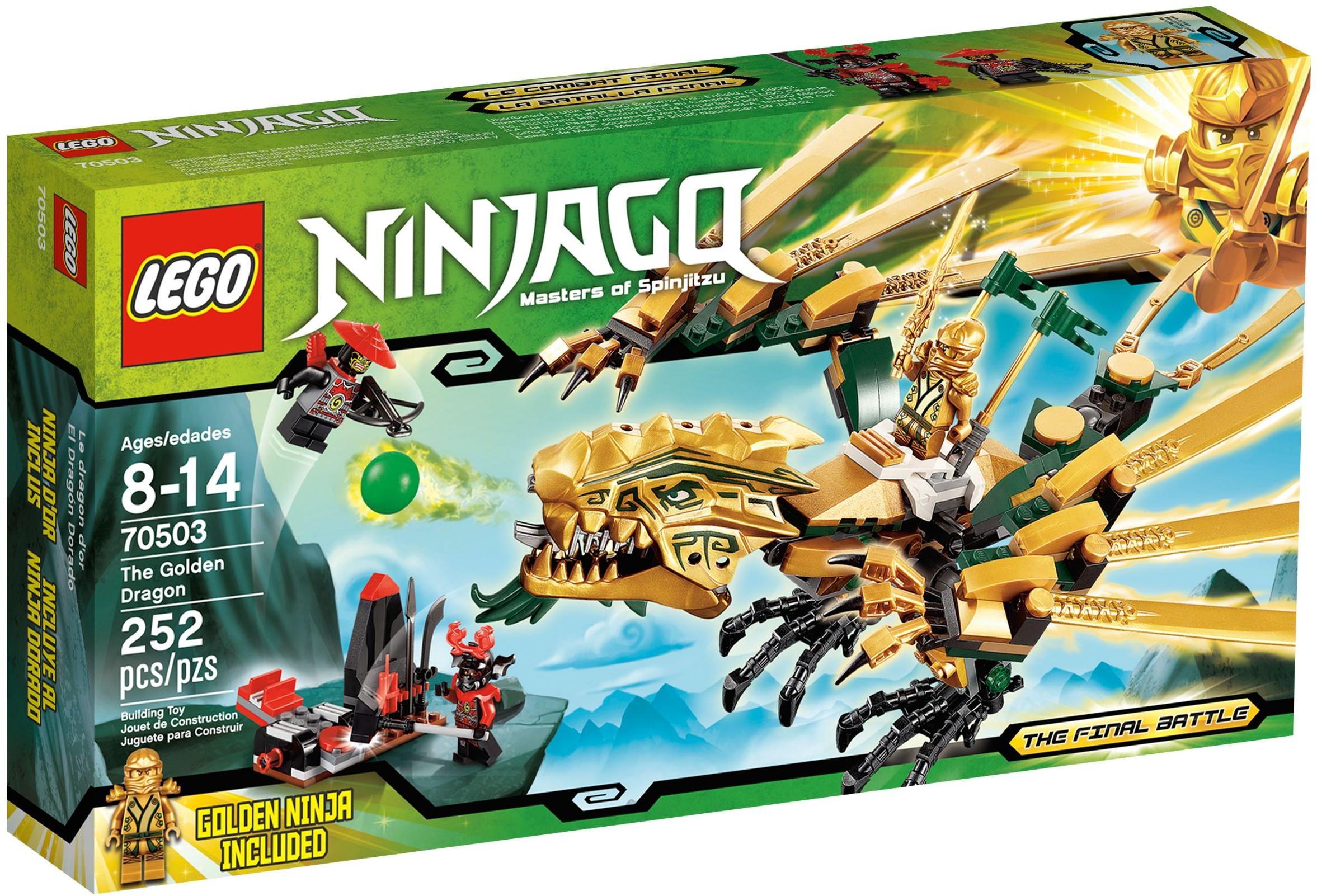 lego ninjago 70503 pas cher le dragon d 39 or. Black Bedroom Furniture Sets. Home Design Ideas