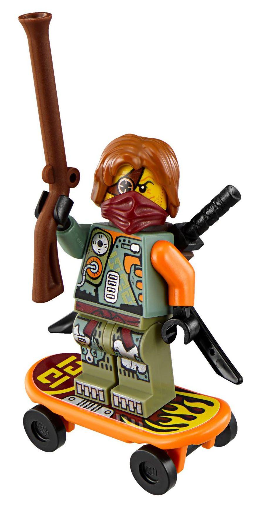 Lego ninjago 70592 pas cher le robot de ronin - Ninjago les 4 armes d or ...