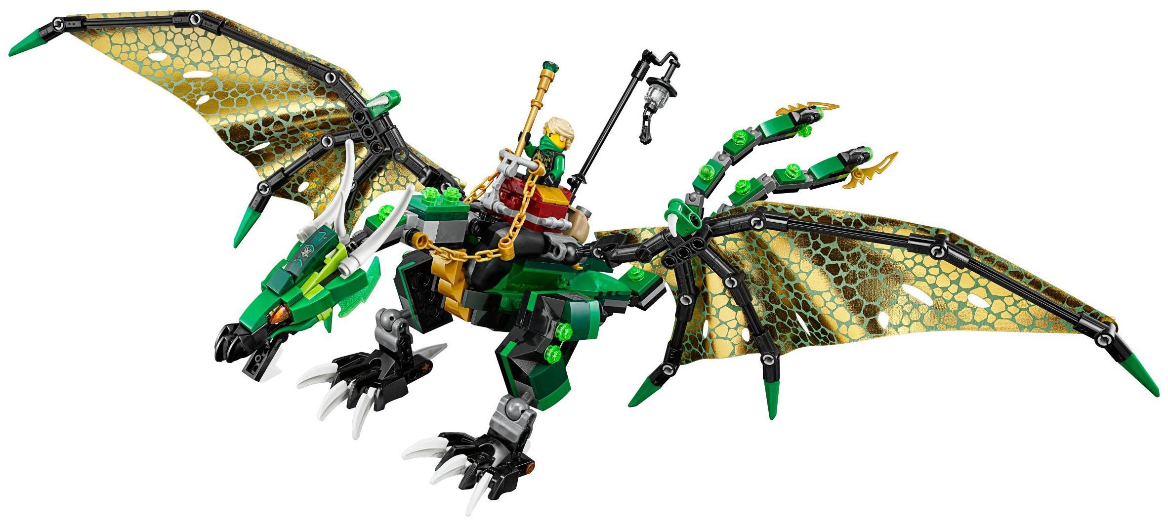 lego ninjago 70593 pas cher le dragon meraude de lloyd. Black Bedroom Furniture Sets. Home Design Ideas