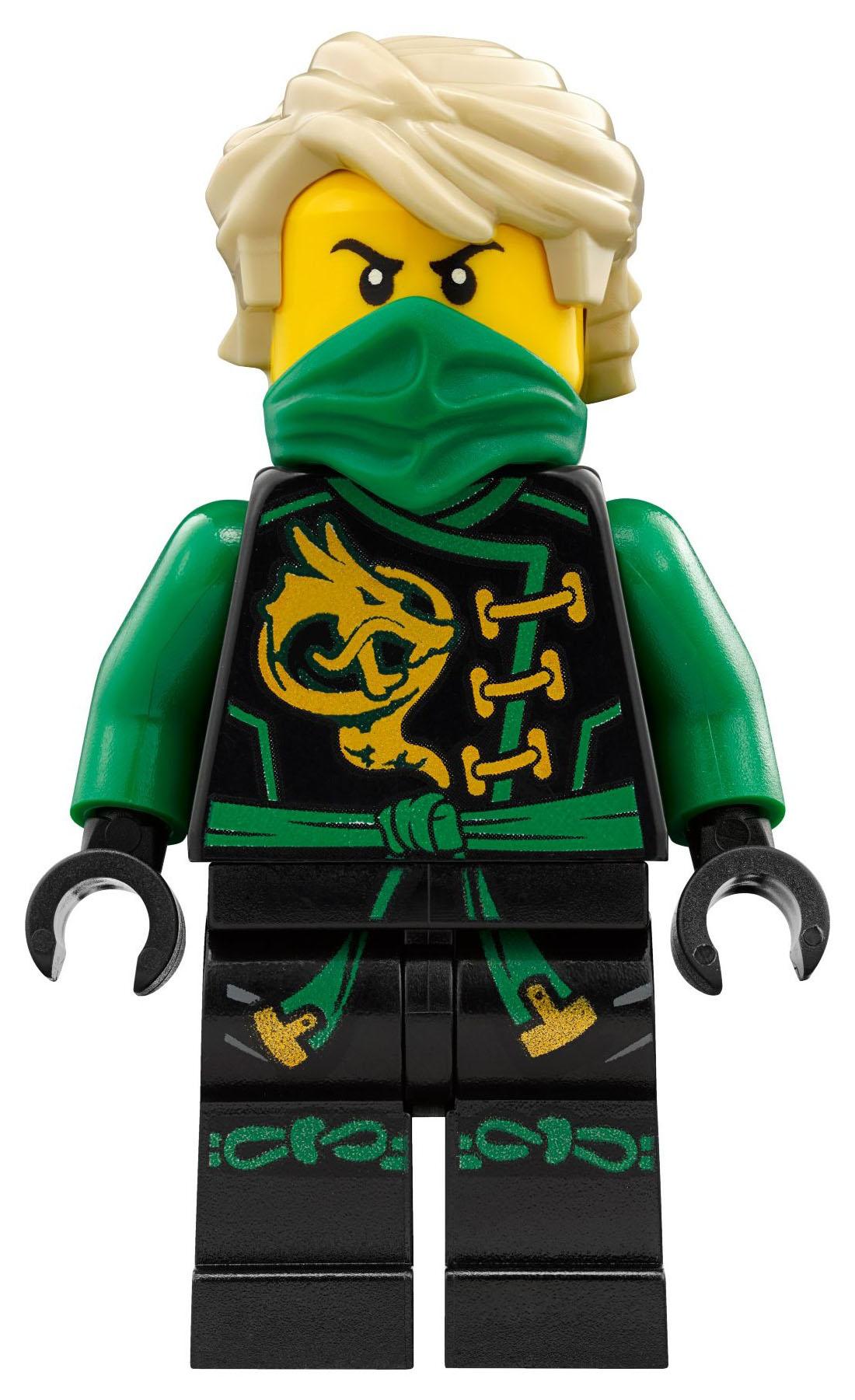 Lego ninjago 70593 pas cher le dragon meraude de lloyd - Lego ninjago d or ...