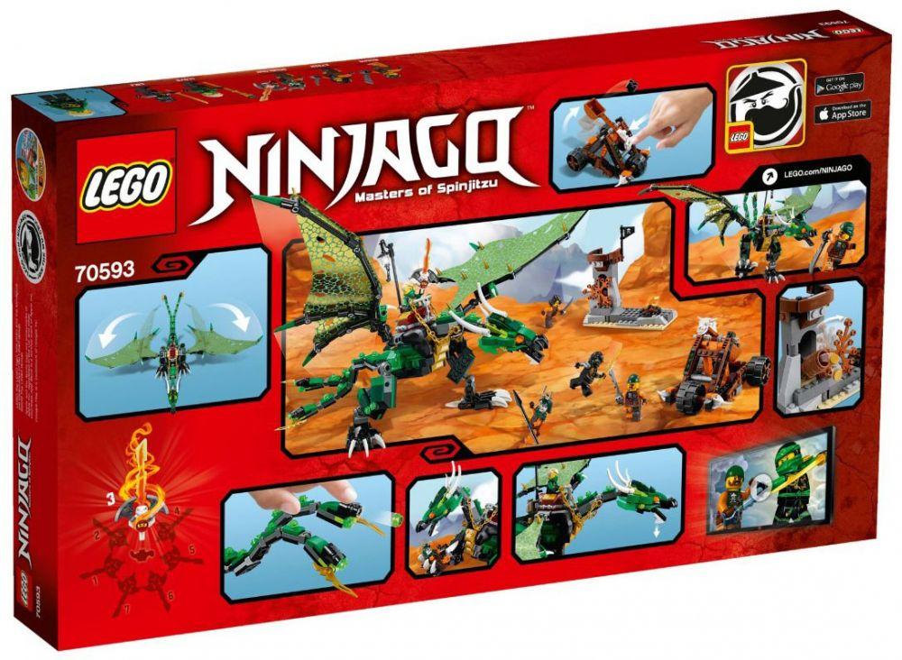 Lego Ninjago Émeraude De Dragon Le 70593 Lloyd OXZkuPiT