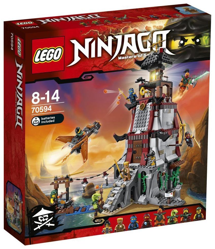 Lego ninjago 70594 pas cher l 39 attaque du phare - Lego ninjago 6 ...