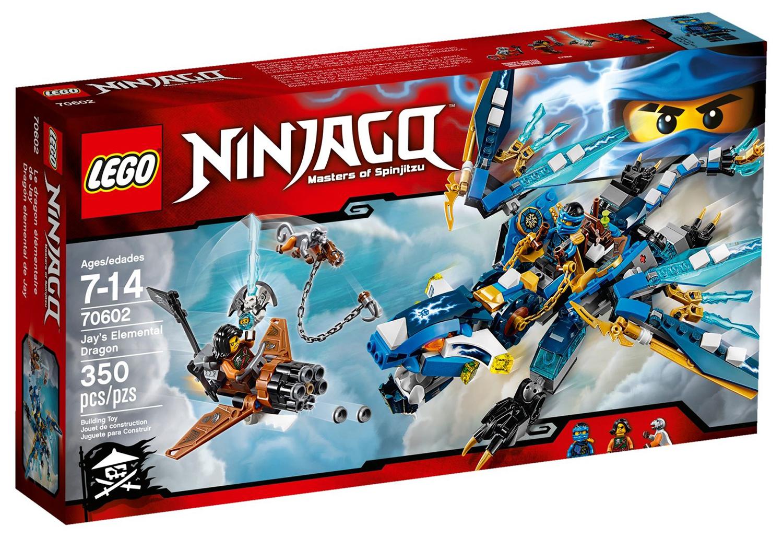 Lego ninjago 70602 pas cher le dragon l mentaire de jay - Lego ninjago 6 ...