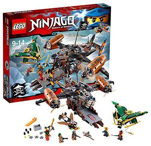 lego ninjago 70605 le vaisseau de la maldiction