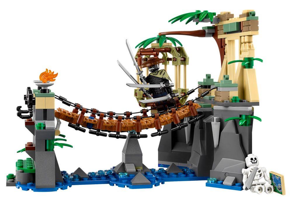 Jungle Lego La 70608 Le Pont Ninjago De sCxdthBQr
