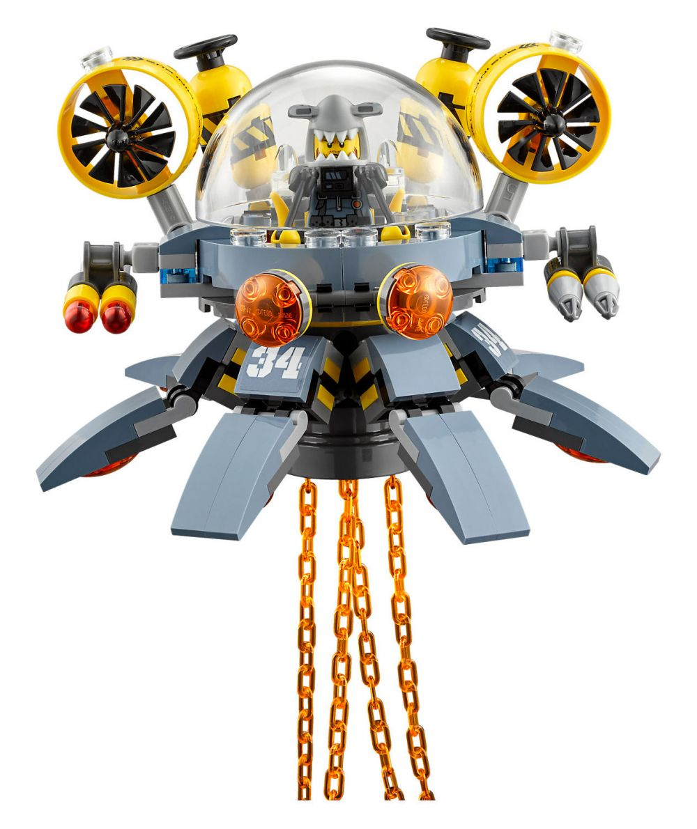Lego ninjago 70610 pas cher le sous marin m duse - Lego ninjago d or ...
